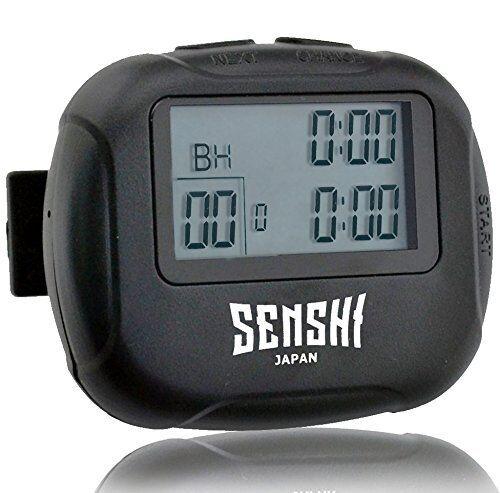 Senshi arbitres interval timer chronomètre gym arbitres Senshi athlètes compact heavy duty fitness 444276