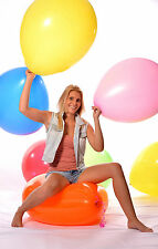 "10x 190er (60cm+ Ø) Riesen- Luftballon - 10x 24"" Riesen- Ballon BUNT ** weich **"