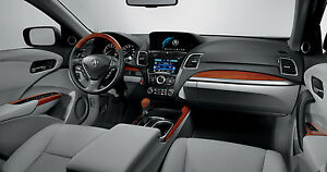Beautiful Image Is Loading 2013 2017 ACURA RDX OEM WOODGRAIN INTERIOR TRIM  Design
