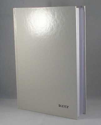 Leitz Notizbuch creme Tagebuch A5 liniert hardcover