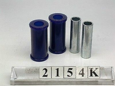 2A /& 3 FRONT REAR SHACKLE BUSH KIT SPF2154K SUPERPRO LAND ROVER Series 2