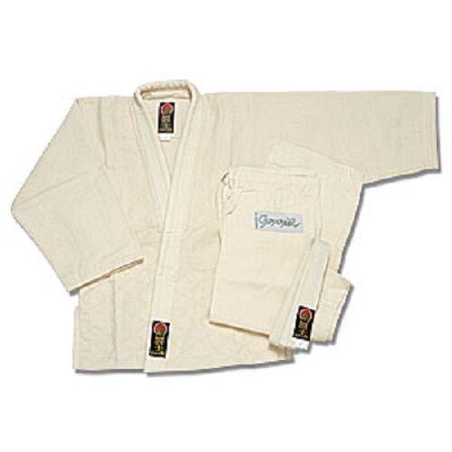 EsES uniforme de judo de Gladiador proforce con cinturón-Color natural