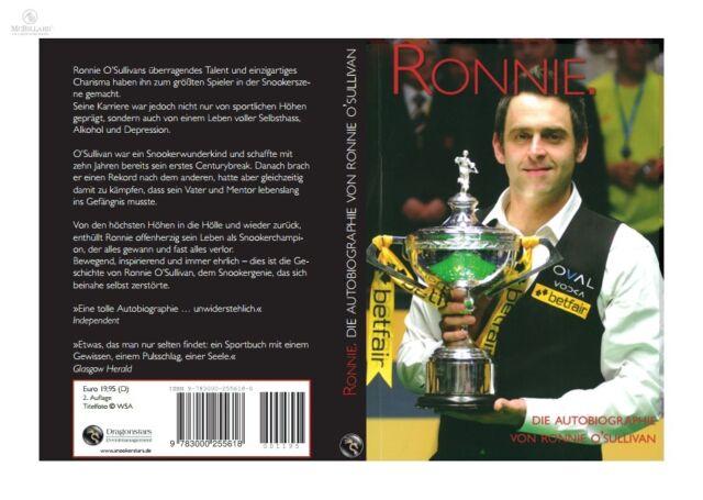 Ronnie O'Sullivan - Ronnie - Autobiographie, gebundenes Buch,  deutsch