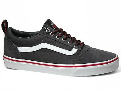 Vans Ward Low Suede Canvas Sneakers Outdoor Obsidian White Grau VN0A38DMSYO1 | eBay
