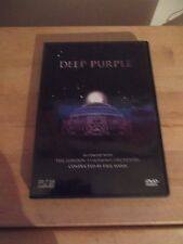 """Deep Purple The London Symphony Orchestra """"In Concert With The L.S.O."""" DVD 2001"""