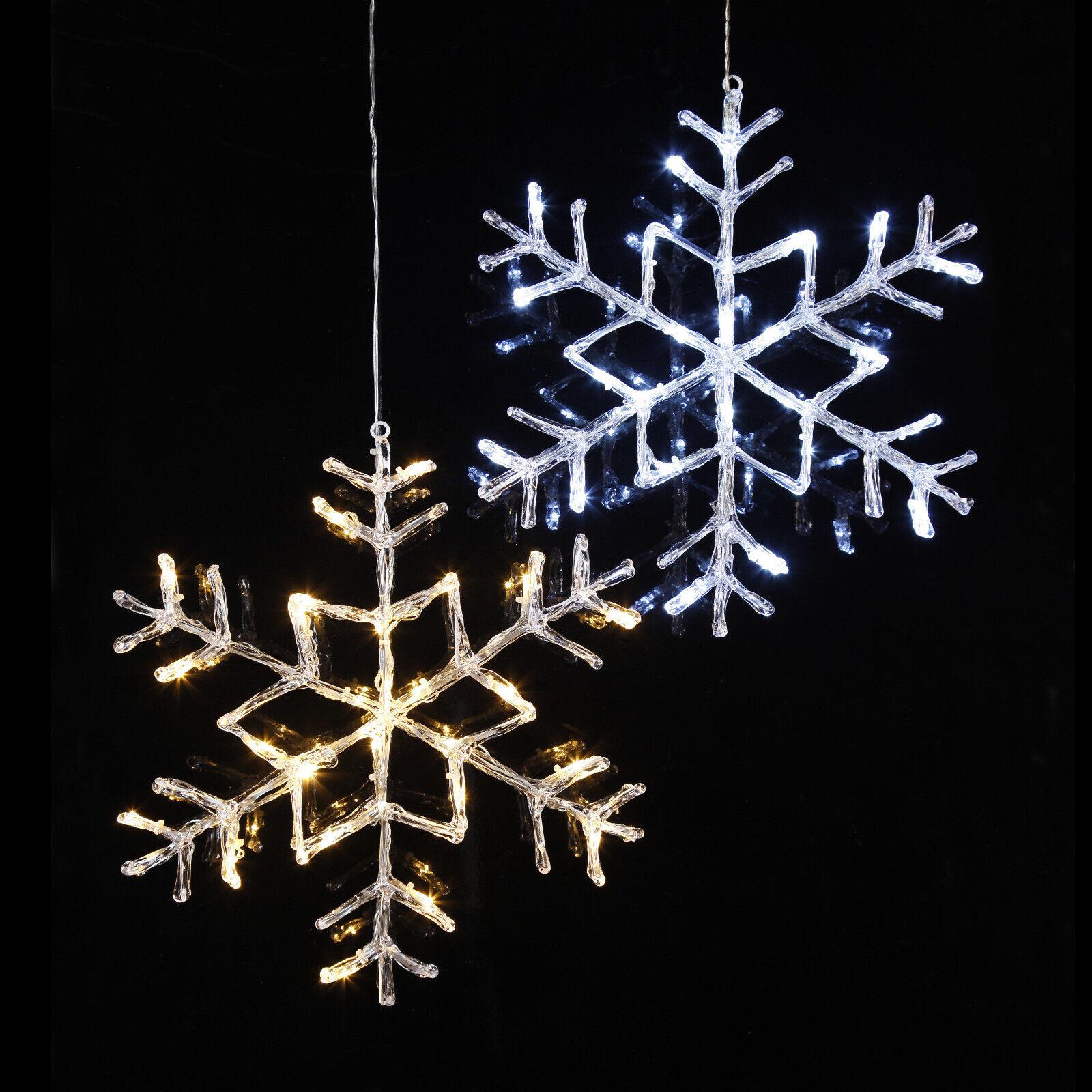 LED Deko-Schneeflocke  Antarctica  beleuchtet für Außen Outdoor Snowflake Winter