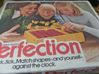 Replacement Playing Pieces Spare Vintage Action GT Perfection Board Game