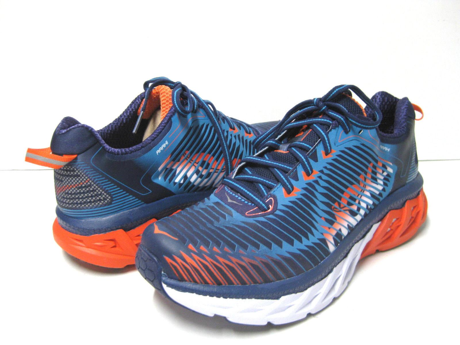 HOKA ONE ONE ARAHI MEN SPORT Blau Blau Blau   Orange US 12  UK 11.5  EU 46 2 3 dbc445