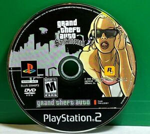 Grand Theft Auto: San Andreas The Trilogy (Sony PlayStation 2) DISC ONLY #22703