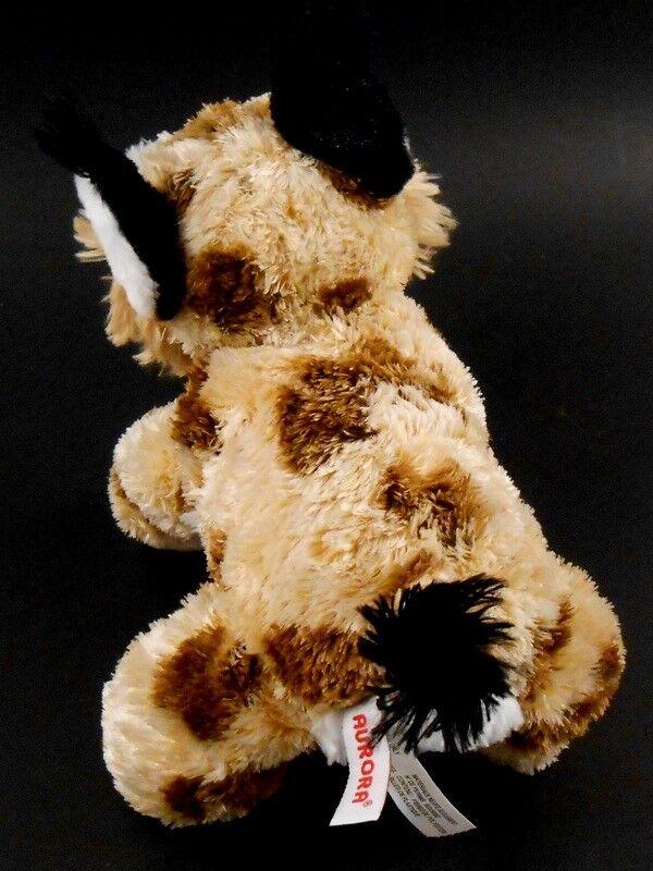 Aurora Floppy Lynx Lynx Lynx Bobcat Beanbag Plush Stuffed Animal Toy 11