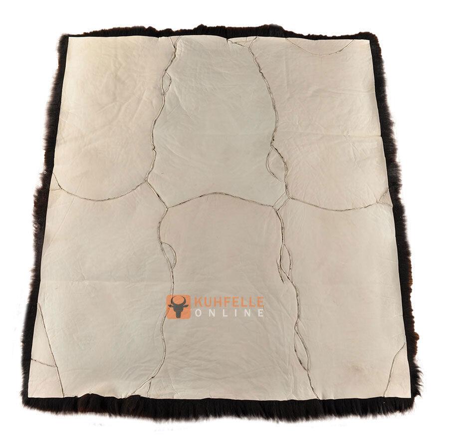 Irlandais peau LAINEE tapis 185 x 160 cm cm cm Fourrure-tapis de 6 ovini | Design Attrayant  dbc2ca