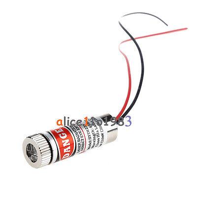 650nm 5mW Red Laser Line Module Focus Adjustable Laser Head 5V Laser Module