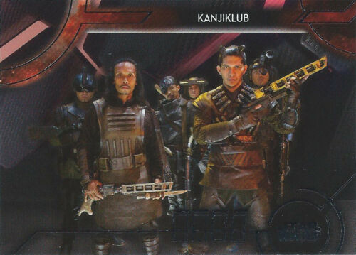 2018 Topps Star Wars Galactic Files Sinister Syndicates You Pick Finish Your Set