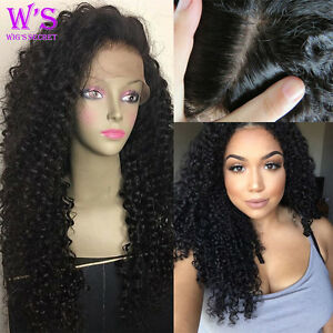 US Stock Deep Wave Curly Lace Front Wig Full Lace Wigs For Black ... 2504ce225cbf
