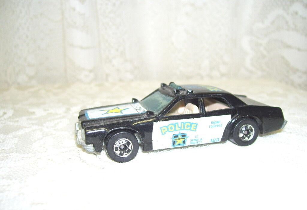 Hot wheels polizeiauto 1977 zu dienen und sie zu schützen und 123 radar ausgestattet mattel