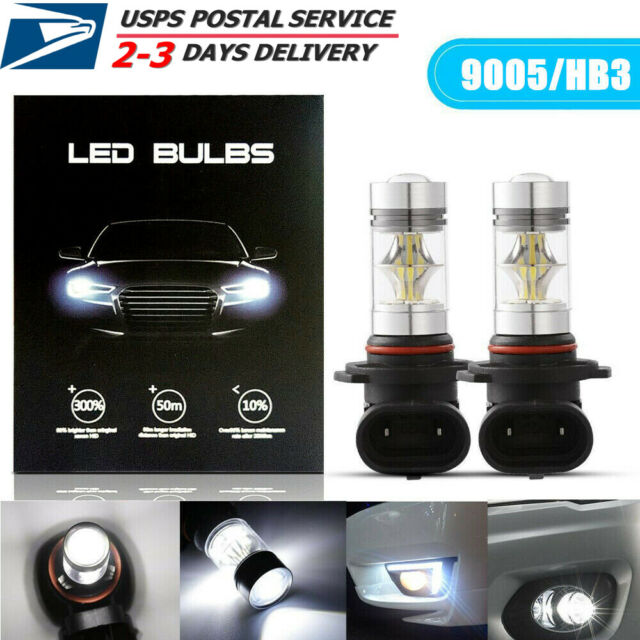 9005 9006 LED Bulbs High Beam Daytime Running Lights DRL