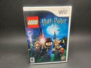 LEGO Harry Potter: (Nintendo Wii,) No manual UNTESTED