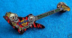 Pattaya-Halloween-Fete-2002-Rouge-Tigre-Rayure-Explorer-Guitare-Hard-Rock-Cafe