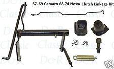67-69 Camaro Clutch Linkage Rods Bellcrank Kit 68-74 Nova 69 70 71 72 73 Chevy 2