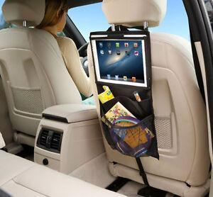 r cksitztasche autositz organizer kinder r ckenlehnen tasche schwarz autotasche ebay. Black Bedroom Furniture Sets. Home Design Ideas