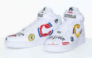 newest 31a56 79229 Image is loading Nike-Air-Force-1-Mid-07-Supreme-NBA-