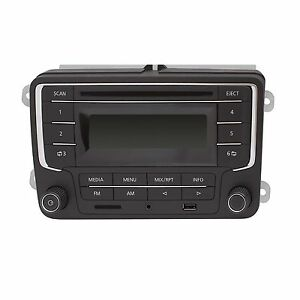 top vw autoradio rcd sd karte mp3 cd usb auto radio kfz ebay. Black Bedroom Furniture Sets. Home Design Ideas