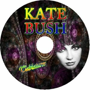 Details about KATE BUSH BASS & GUITAR TAB CD TABLATURE GREATEST HITS BEST  OF ROCK MUSIC POP