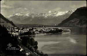 Zell-am-See-Salzburg-Austria-AK-1930-gelaufen-mit-Stempel-Schmitten-Hoehebahn