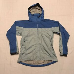 Marmot-Nylon-Hiking-Windbreaker-Rain-Jacket-Stowaway-Hood-Womens-Large