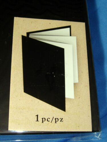 "ART C Photo Accordion Book Album Scrapbook NEW 5/"" x 7/"" Mix Media"