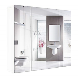 Bathroom-Wall-Mirror-Cabinet-3-Mirror-Door-Kit-Mirrored-Medicine-Toilet-Storage