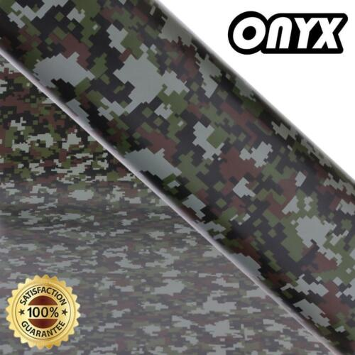 "long life Camo Camouflage Vinyl Wrap /""Digital Style/"" Bubble Free UV protected"
