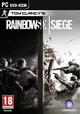 Tom Clancy's Rainbow Six: asedio Uplay CD KEY-Descarga Digital-Juego de PC