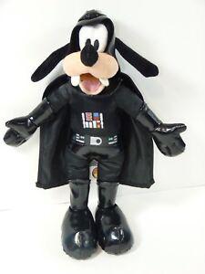 Goofy-Star-Wars-Dressed-as-Darth-Vader-12-039-039-Plush-Doll-Toy-Disney-Parks-VGUC