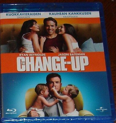 Blu Ray film The Change Up , new and unused With Ryan Reynolds & Jason Bateman