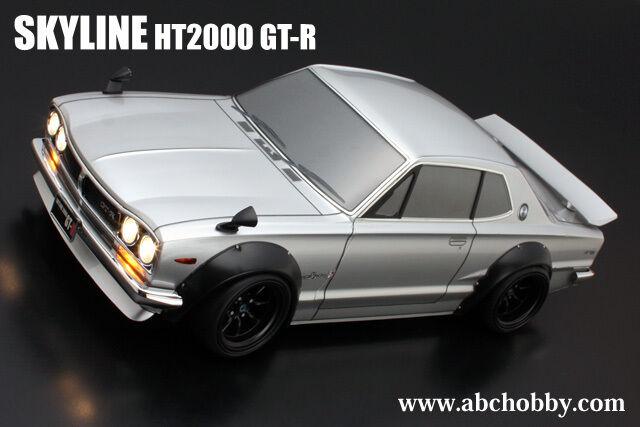 ABC-HOBBY 66132c 1 10 Nissan Skyline ht2000 GT-R M. larghezze radhäusern (precut)