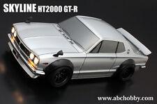 ABC-Hobby 66132C 1/10 Nissan Skyline HT2000 GT-R m. breiten Radhäusern (Precut)