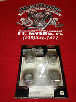 Harley Davidson Chrome Tappet Block Covers For 86`-90` Xl