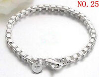 Wholesale New Fashion jewelry 925SILVER Womens Bracelet/bangle gifts