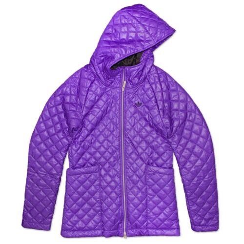 lilas en Longue Adidas Originals matelassé veste molleton femmes Crossover Jacket pour 6xz61pq