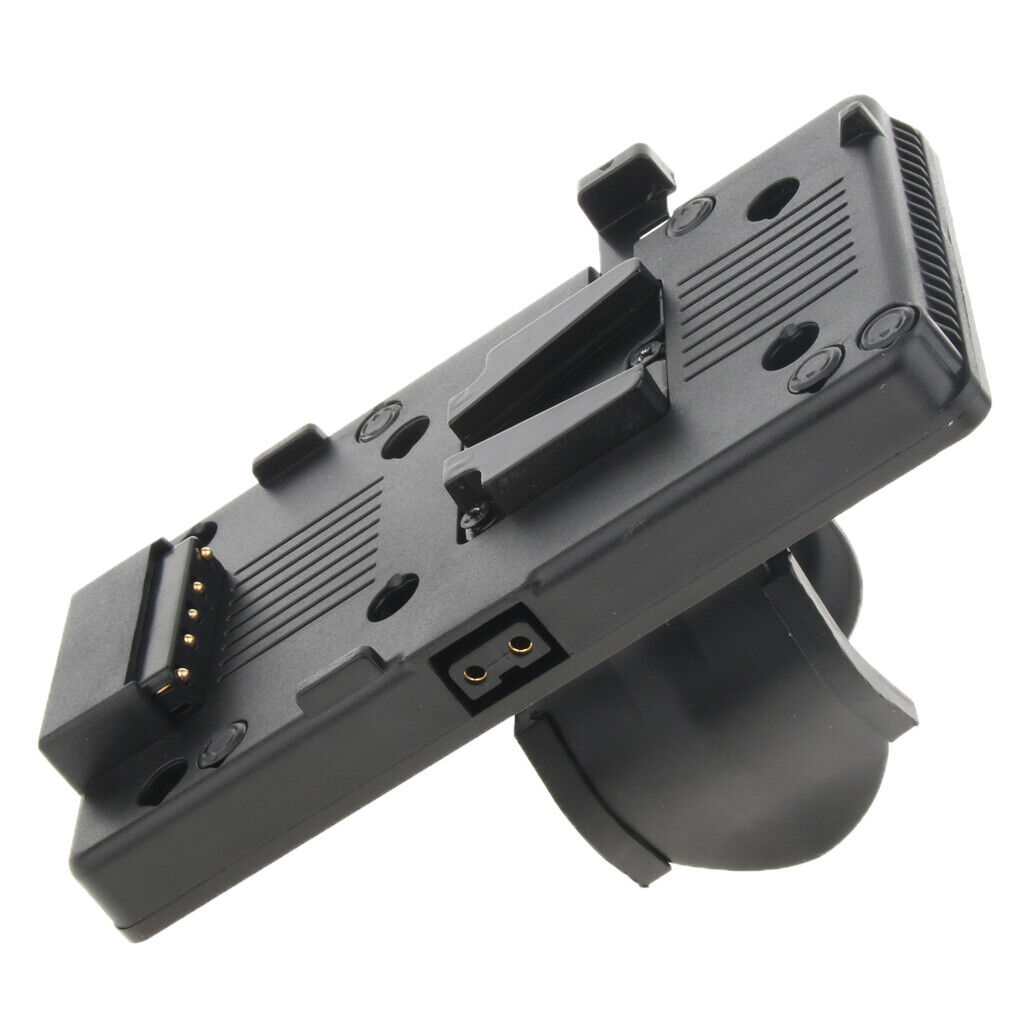 V Mount V-Lock D-tap BP Battery Plate Adapter w/ Clamp for Sony Video Camera
