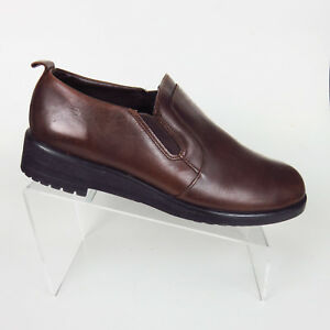 3252a69ee52495 Image is loading Dexter-Shoes-Womens-Size-11-M-Brown-Leather