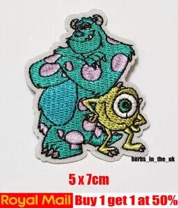 Disney Monsters Inc University Character Patch Badge Monsters University