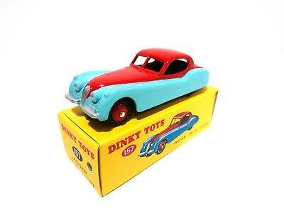 157 Jaguar xk 120 coupe-dinky toys deagostini car miniature model car