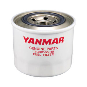 Details about GENUINE YANMAR MARINE DIESEL FUEL FILTER 119802-55810  (Supersedes 119802-55801)