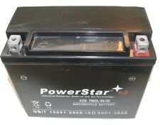 POWERSTAR REPLACEMENT MBTX20U 12V 18Ah Motorcycle Battery Replaces YTX20LBS