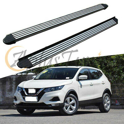 fits NISSAN for Qashqai 2014-2019 new design running board side step nerf bar
