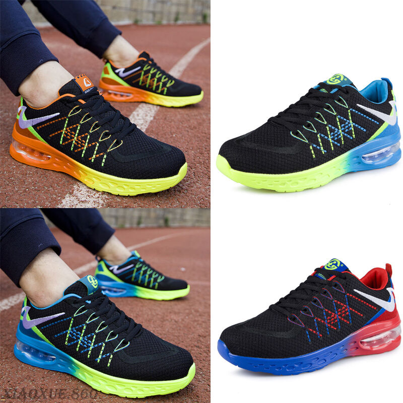 Men's Breathable Casual Running Shoes Sports Outdoor  Basketball Sneakers Shoes Running Hot 064220