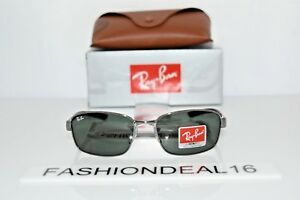 New-Ray-Ban-Authentic-Gunmetal-Black-RB3413-004-59mm-Sunglasses