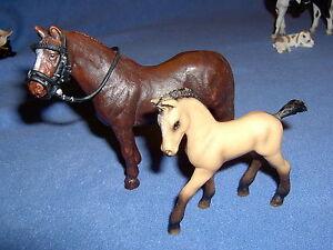 Schleich Horse Club Pferd Hannoveraner Stute Ardenner Hengst Falabella NEU